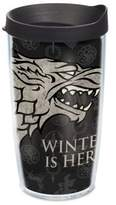 """Tervis Game of Thrones"""" Stark """"Winter is Here"""" 16 oz. Wrap Tumbler with Lid"""