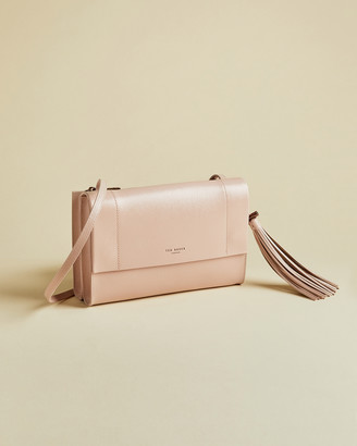 Ted Baker LAILAI Leather tassel detail cross body bag