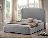 Asstd National Brand Baxton Studio Sheila Modern Upholstered Linen Bed