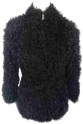 IRO Black Shearling Jackets