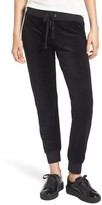 Juicy Couture Women's Gothic Crystals Embellished Velour Pants