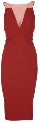 Rick Owens Mesh Panelled Sleeveless Dress