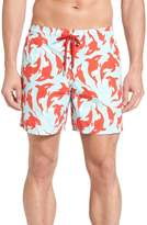 Vilebrequin Men's Moorea Galaks Print Swim Trunks