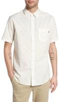 Obey Men's Zeke Print Woven Shirt