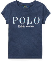 Ralph Lauren 2-6X Polo Cotton Jersey Graphic Tee