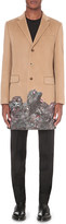 Givenchy Monkey Brothers wool and cashmere-blend coat