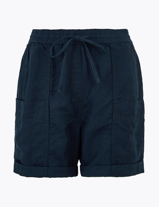 Marks and Spencer Linen Chino Shorts