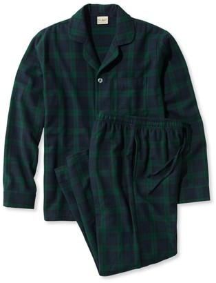 L.L. Bean L.L.Bean Men's Scotch Plaid Flannel Pajamas