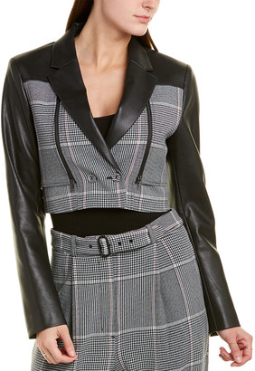 BCBGMAXAZRIA Crop Jacket