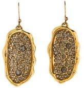Alexis Bittar Liquid Gold Pavé Earrings