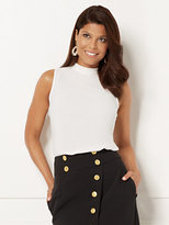 New York & Co. Eva Mendes Collection - Sevan Bow Blouse - Ivory