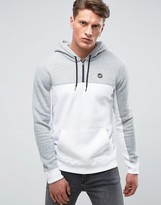 Hollister Icon Logo Overhead Hoodie Regular Fit In White