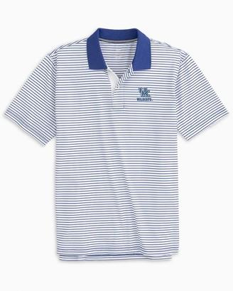 Southern Tide Kentucky Wildcats Pique Striped Polo Shirt