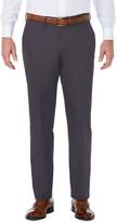 Haggar Men's J.M. Premium Tailored-Fit Stretch Flat-Front Suit Pants