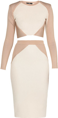 Elisabetta Franchi Celyn B. Color Block Suit