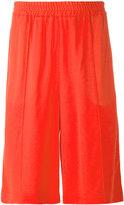 MSGM side strip shorts - men - Polyamide/Acetate/Viscose - 46