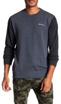RVCA Circle Type Crew Neck Sweatshirt