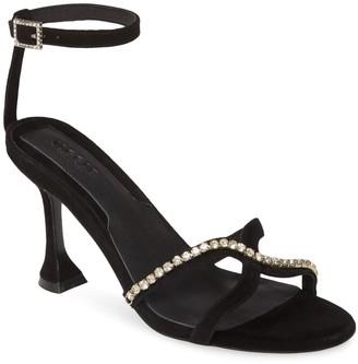Jaggar Footwear Crystal Embellished Sandal