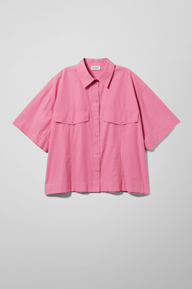 Weekday Shayla Shirt - Black