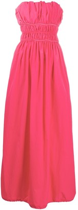 Kenzo Strapless Maxi Dress