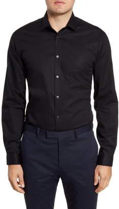 John Varvatos Slim Fit Solid Dress Shirt