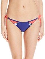 Body Glove Women's Victory Tie Side Brasilia Bikini Bottom