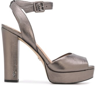 Sam Edelman Metallic Heeled Sandals