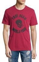 True Religion World Tour Skull Graphic T-Shirt, True Red