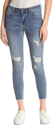 Vigoss Marley Super Skinny Cut Off Jeans