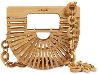Cult Gaia Nano Bamboo Top Handle Bag