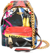 Moschino mini backpack shoulder bag