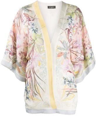 Etro floral-print kimono