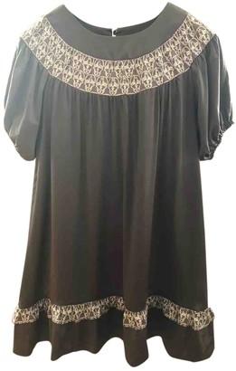 Thomas Wylde Grey Silk Dress for Women