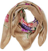 Saachi Floral Butterfly Silk Touch Multi Way Scarf