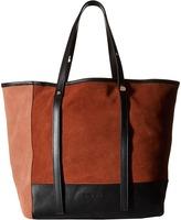 See by Chloe Denim Patchwork Tote Tote Handbags