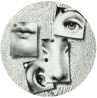 Fornasetti Pinned Photo Print Plate