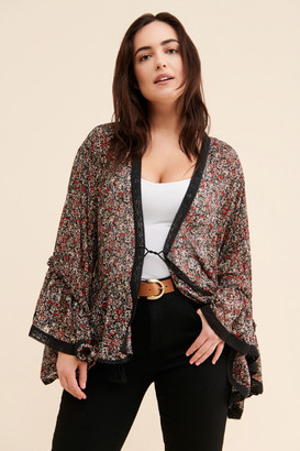 Free People Lola Sheer Short Duster
