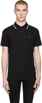 Burberry Black Adley Polo
