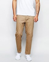Cheap Monday Work Chinos Tapered Cropped Fit - Beige