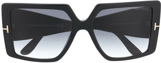Tom Ford Quinn square sunglasses
