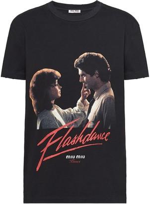 Miu Miu Kisses Flashdance T-shirt