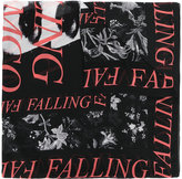 McQ by Alexander McQueen slogan printed scarf - men - Modal - One Size