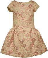 Bonnie Jean Bowback Brocade Dress - Preschool Girls 4-6x