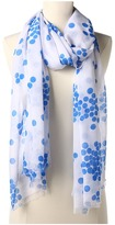 Steve Madden Neon Molecules scarf (Neon Blue) - Accessories