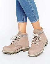 CAT Footwear Cat Ridge Lace Up Flat Boot