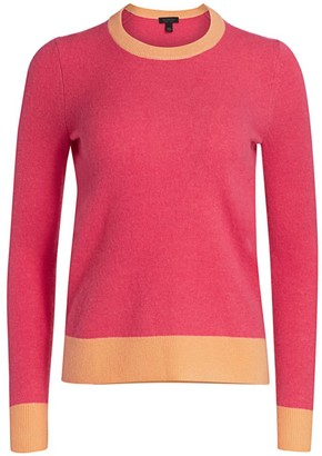 Saks Fifth Avenue Contrast Cashmere Sweater