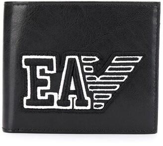 Emporio Armani Embroidered Logo Wallet