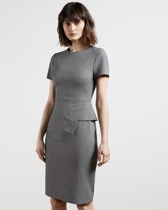 Ted Baker JANZA Tailored asymmetric dress