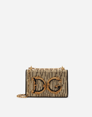 Dolce & Gabbana Lurex Girls Shoulder Bag