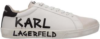 Karl Lagerfeld Paris Skool Brush Logo Sneakers
